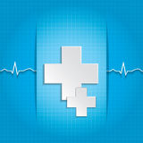Abstract medical background. Stock Images