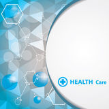 Abstract medical background. EPS 10. Royalty Free Stock Photo