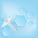 Abstract medical background . Stock Photography