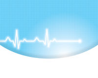 Abstract medical background . Stock Photos
