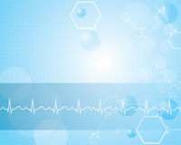 Abstract medical background . Stock Image