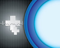 Abstract medical background. Stock Photo