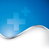Abstract medical background . Stock Images