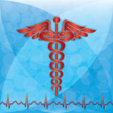 Abstract medical background Stock Photography
