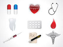 Abstract medical icons Stock Photo