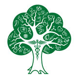 Medical tree Stock Photo