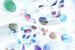 Abstract medication background. Abstract medication drug background invert multi colors Stock Image