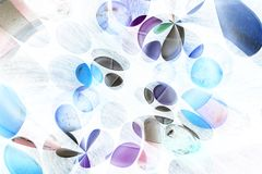 Abstract medication background Stock Image