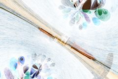 Abstract medication background Stock Photography