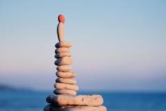 Abstract of Meditation Stock Photo