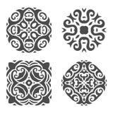 Abstract mehndiornament - illustratie royalty-vrije illustratie