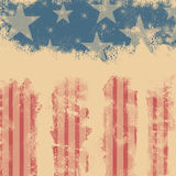 Abstract  Memorial Day background Royalty Free Stock Photos