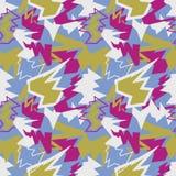 Abstract mengelings naadloos patroon Dynamische Achtergrond Agressieve te Stock Foto's