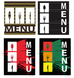 Abstract menu Stock Photos