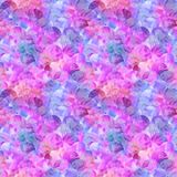 Abstract mermaid scales seamless pattern. Fish skin texture in holographic colors