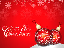 Abstract merry chirstmas background Stock Photo