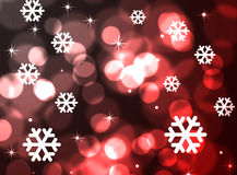Abstract merry christmas. Black and red background Royalty Free Stock Image