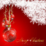 Abstract merry christmas background Stock Photo