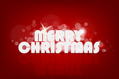 Abstract merry christmas card Royalty Free Stock Photo