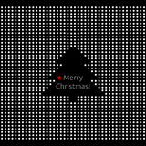 Abstract Merry christmas greeting card Royalty Free Stock Photo