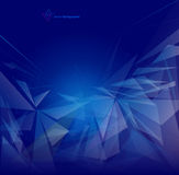 Abstract mesh background with triangle and  lines Stock Images