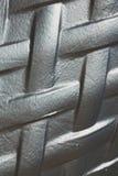 abstract metaal op de englan achtergrond van het traliewerkstaal Royalty-vrije Stock Fotografie