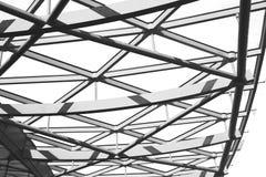 abstract metaal op englan het traliewerkstaal en achtergrond van Londen Royalty-vrije Stock Afbeelding