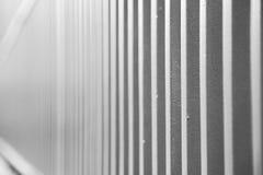 abstract metaal op het traliewerkstaal en achtergrond van Londen Royalty-vrije Stock Foto