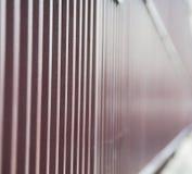 abstract metaal op het traliewerkstaal en achtergrond van Londen Royalty-vrije Stock Foto's