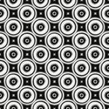 Abstract metaalhulppatroon Naadloze vector Royalty-vrije Stock Fotografie