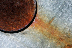 Abstract Metal. And Rust royalty free stock photos