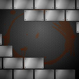 Abstract metal background. Stock Photo