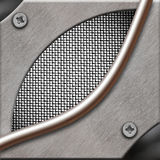 Abstract metal background. Royalty Free Stock Photography