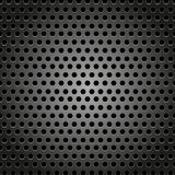 Abstract metal background design pattern with hexagon concept Stock Image
