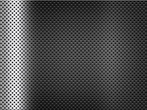 Abstract metal background with grid. Abstract silver metal background with grid Stock Photography