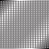Abstract metal background with rivets Royalty Free Stock Photo