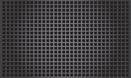 Abstract metal background with square patern Stock Photos