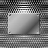 Abstract metal background. Steel Royalty Free Stock Photo