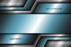 Abstract metal background with turquoise elements. Stock Photo
