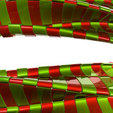 Abstract metal christmas color background Royalty Free Stock Photos