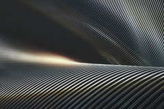 Abstract Metal Chrome Royalty Free Stock Image