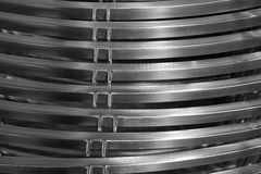 Abstract metal curve Royalty Free Stock Images
