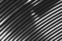 Abstract metal curve Royalty Free Stock Photos