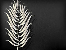 Abstract Metal feather Royalty Free Stock Images