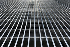Abstract Metal Grate Lines Royalty Free Stock Image
