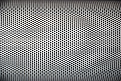 Abstract metal grid. Rounded off along the edges Stock Photos