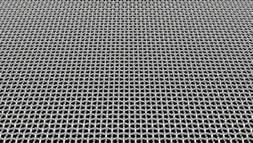 Abstract metal grid background 3D render Royalty Free Stock Photos