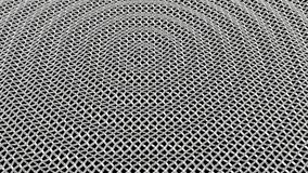 Abstract metal grid background 3D render Royalty Free Stock Photography