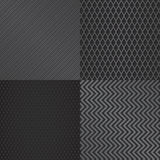 Abstract metal grill pattern background set  Stock Photos