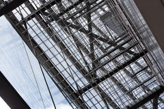 Abstract metal grille Stock Image